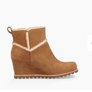 3253a1cd709 Women Ugg Wedge Ankle Boots on Poshmark